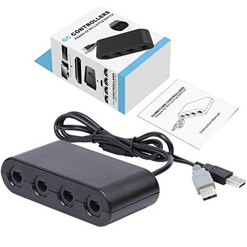 Switch Gamecube Controller Adapter, Super Smash Bros