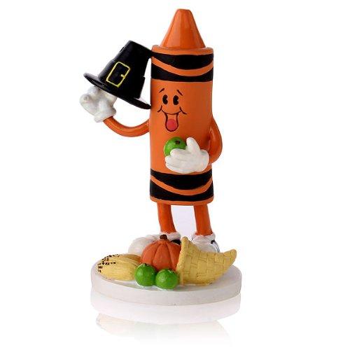 """Crayola """"Fall Thanksgiving"""" Collectible Crayon Figurine"""