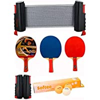 Super Set Ping Pong Negro/Naranja