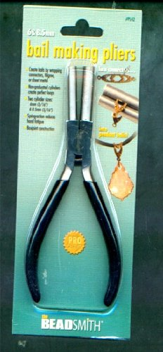 Bail Making Pliers - Round Ends 6mm/8.5mm For Filigree Wrapping Wire (Round Tip Pliers)
