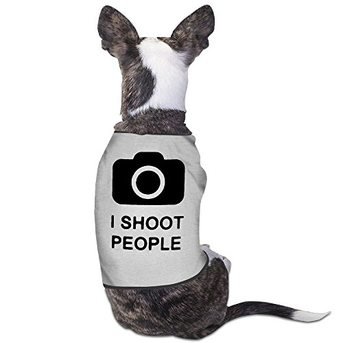 LeeRa I Shoot People Dog Shirt - Virginia Halloween Costume