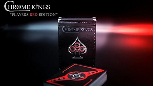 MTS Chrome Kings Limited Edition Playing Cards Players Red Edition by Devo vom Schattenreich and Handlordz