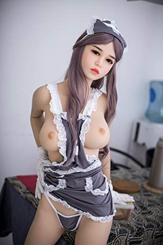 165cm /5.41ft TPE Love Doll Massager Toy Silicone Lovely Doll Stick