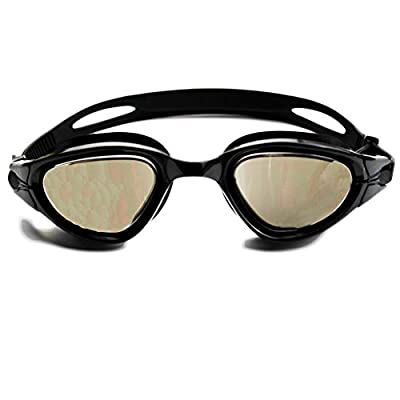 Compressions Adult Swim Goggles for Men and Women with Swimming Goggles Case by BEST PRODUCTS TODAY, LLC