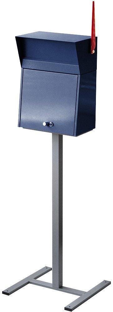 ハモサ メルローズポスト スタンド付きセット [ ネイビー ] HERMOSA MELROSE POST B077DMKKNR 25920