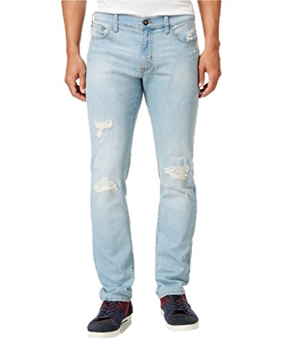 Ring of Fire Men's Slim-Fit Cayenne Skylar Wash Destructed (Fire Stretch Jeans)