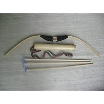 Amazon Com Train Play Kid Child Bamboo Amp Wood Bow And