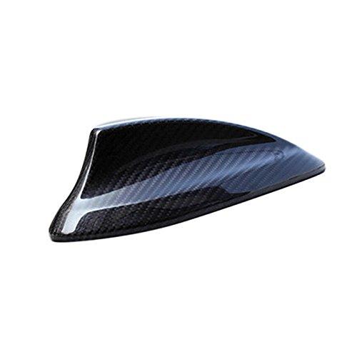 Fibra de Carbono techo antena Cover recortar decorativas para BMW Serie 1F20F212012–2017para BMW Serie 2Coupe...