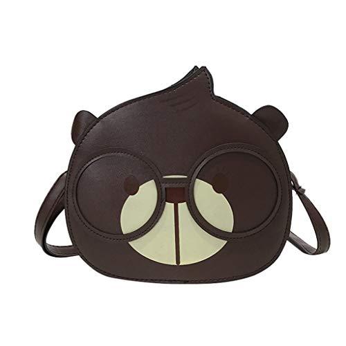 Kangma Mini Cute Crossbody Bag Squirrel Messenger Shoulder Bags For Leisure & Banquet & Travel & Sport & Shopping