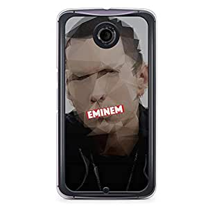 Eminem Nexus 6 Transparent Edge Case - Heroes Collection