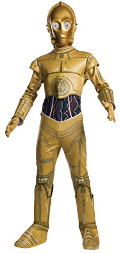 Rubie's 640557-M Star Wars Classic C-3PO Children's Costume, Medium -