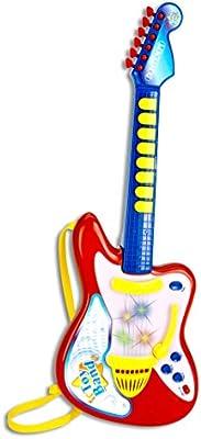 """Bontempi Guitarra Rock electrónica con Mando """"púa"""" y Efectos ..."""