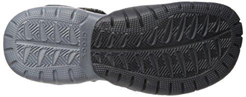 Crocs Swiftwater Sandal M, Sandali Uomo Nero (Black/Charcoal)