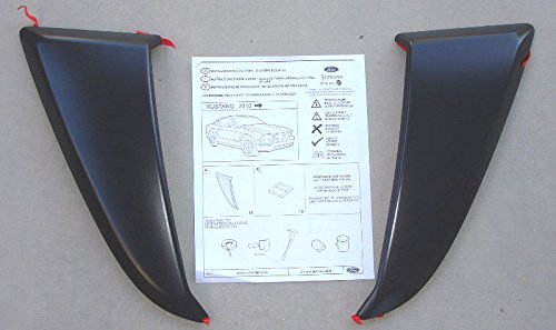 Oem Factory Stock Genuine 2010 2011 2013 2013 2014 Ford Mustang Side Body Scoops Vents Lh & Rh Driver Passenger Set Pair Unpainted ()