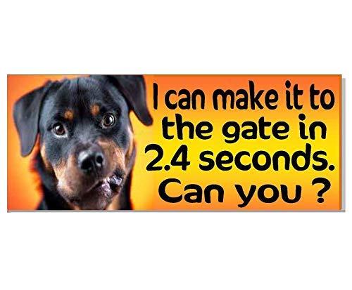 Eyrrme Cartel de Advertencia para Puerta de Perro Beware ...