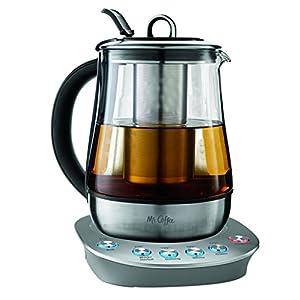 Mr. Coffee BVMC-HTKSS200  Hot Tea Maker and Kettle, Stainless Steel