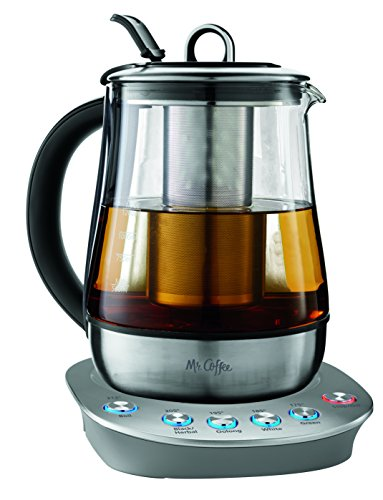 Mr. Coffee BVMC-HTKSS200 Hot Tea Maker and Kettle, Stainless Steel, (Best Mr. Coffee Water Heaters)