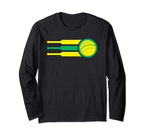 Australia Cricket Team Australian Cricket Fan Flag Aussie Long Sleeve T-Shirt