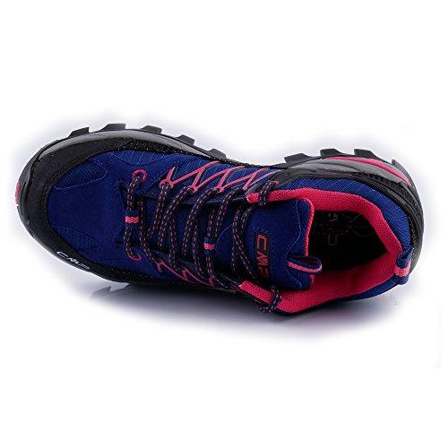 Nombreuses Couleurs Chaussure blue Disponibles par Botte Dans extérieure Et Outdoor pour Ibisco de Imperméable Ragel CMP Pignolo Trekking spécial la Randonnée de Dames Anti black de Dérapant su Modèle wxrqnaZfw6