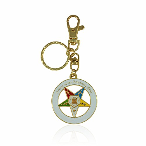 Order of the Eastern Star Key Chain with Purse Hook/Belt ...