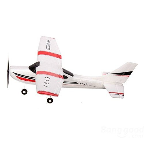 GoolRC F949 Cessna 182 Remote Control 3ch Fixed Wing Drone Plane Rc Toys Airplane Aircraft (Cessna Rc 182 Plane)