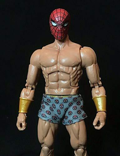 Amazon.com: FIGLot 1/12 Escala PS4 Spider-Man Boxer Undies ...