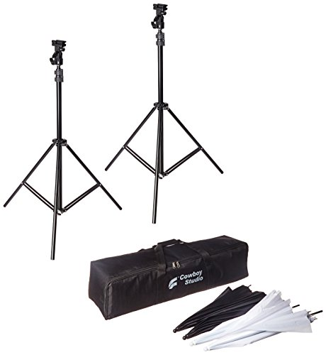 CowboyStudio Doulbe Off Camera Swivel Umbrella product image