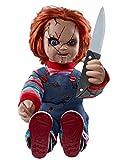 Spirit Halloween 2 Ft Talking Chucky Doll