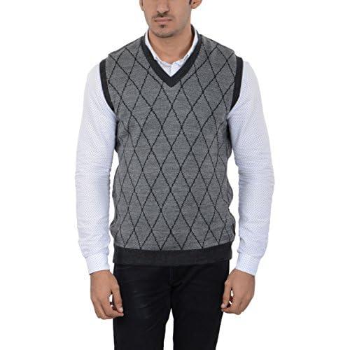 414hb2q0abL. SS500  - aarbee Men's Woolen Reversible Sweater