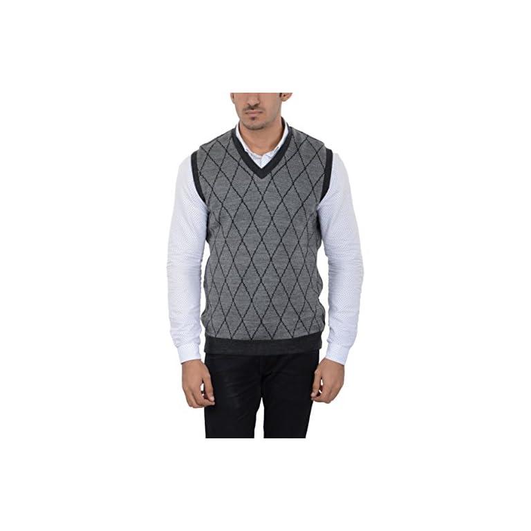 414hb2q0abL. SS768  - aarbee Men's Woolen Reversible Sweater