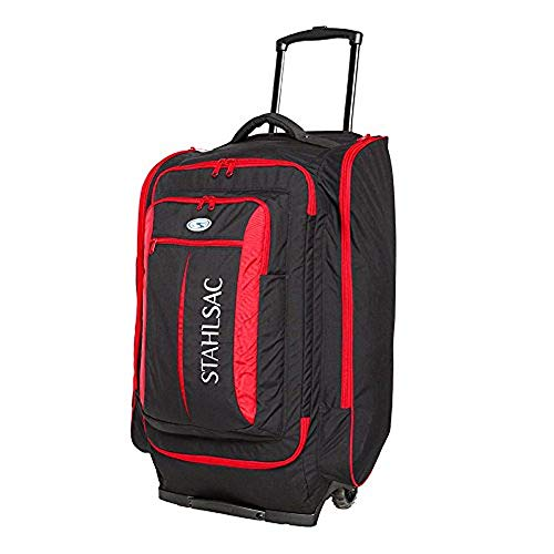 Stahlsac Caicos Cargo Wheeled Dive Pack (Red/Black)