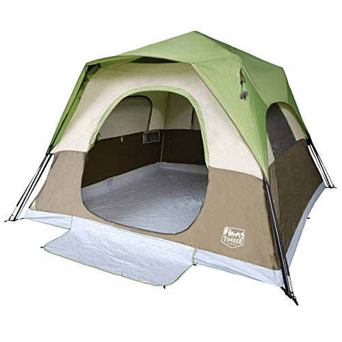 Timber Ridge 6-Person Instant Cabin Tent with Rainfly ()