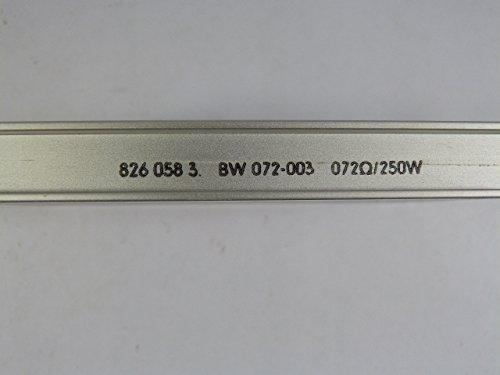 SEW Eurodrive Bremswiderstand Typ BW072-003    Sach.Nr. 072Ohm//250W 826 058 3