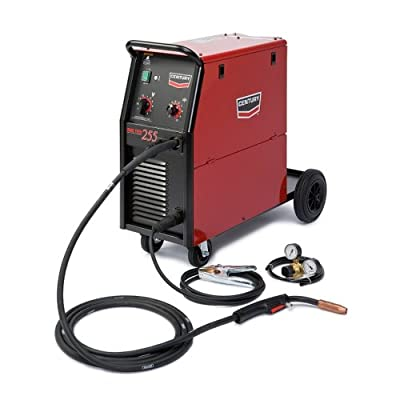 Century 255 Flux-Cored/MIG Wire-Feed Welder, 30-255 amp Output, 230V Input