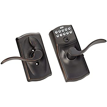 Schlage Fe595vcam716acc Fe595vcam Acc 716 Keypad Accent