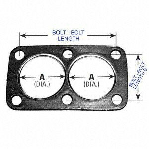 AP Exhaust Products 9213 Exhaust Pipe Connector Gasket