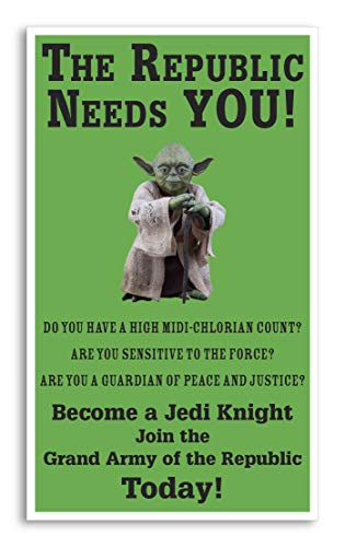 Star Wars - Yoda - The Republic Needs You 13