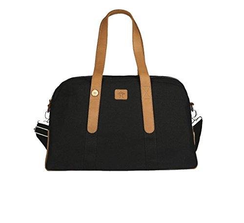 Faguo - Bolsa de viaje de Material Sintético black-tawny-f1730
