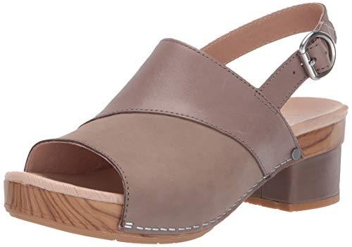 - Dansko Women's Madalyn Sandal, Taupe Burnished Calf, 42 M EU (11.5-12 US)