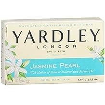 Yardley of London Jasmine Pearl Bath Bar Soap 4.25 oz. by Yardley