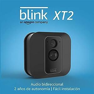 Blink XT2 (2. Gen)   Cámara de seguridad inteligente, exteriores e interiores, almacenamiento en el Cloud, audio bidireccional, 2 años de autonomía   1 cámara