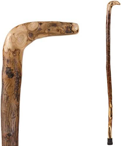 Brazos Free Form Natural Hardwood Root Handcrafted Walking Cane, 37 Inch