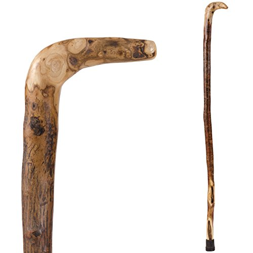 Brazos Free Form Natural Hardwood Root Handcrafted Walking Cane, 40 Inch, Made in the USA
