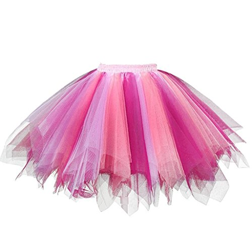 ea44fdb1e915 DYS Women's 1950s Knee Length Petticoat Slips Tulle Ballet Bubble Tutu Skirt  - Buy Online in Oman. | Apparel Products in Oman - See Prices, Reviews and  Free ...