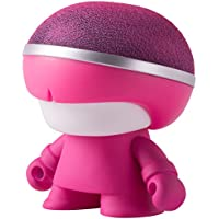 Xoopar Boy Mini Bluetooth Speaker With Selfie Function, Colorful LED light, Pink Body, Fashionable Gift, Portable Wireless Speaker
