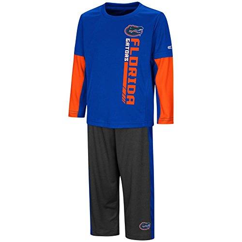 Colosseum University of Florida Gators Toddler Boy's Long Sleeve Shirt/Pant Set ()