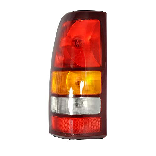 (Left Driver Side Tail Light Assembly For 1999-2002 CHEVY SILVERADO 1500 and 1999-2002 GMC SIERRA 1500 - GM2800173)