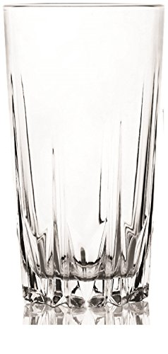 Circleware Ambition CG Society Drinking Glasses, Set of 4, 14.7 oz., (Elegant 10 Ounce Ceramic)