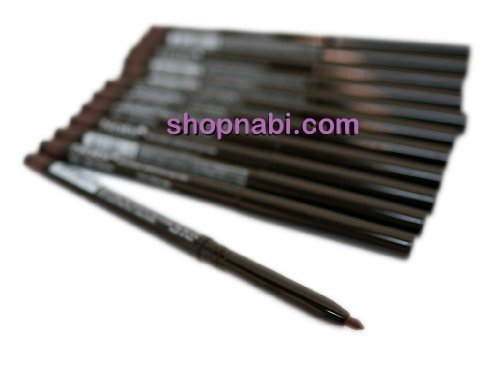 12pcs Nabi Retractable Waterproof Dark Brown Eyeliner (Wholesale Lot)