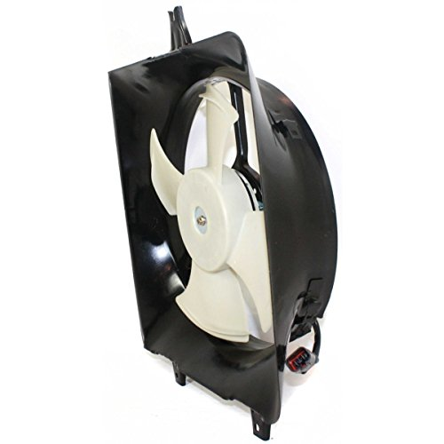 Diften 325-A0058-X01 - New A/C AC Condenser Single Fan Assembly With motor Acura HO3113122 38615P0GA00 ()